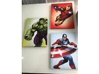 Avenger canvases