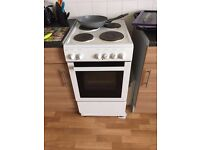 Statesman Single Cavity White 50cm Electric Cooker