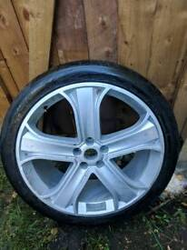 22 hst inch hse range rover sport vogue alloy wheel single one only