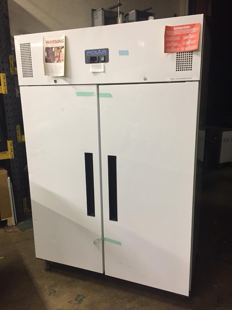 Commercial double door fridge POLAR (NOT USED)