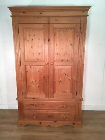 Solid Pine Wardrobe with free delivery within 10 miles