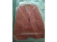 Men's cotton pink casual jacket