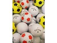 100 Golf Balls Mint Condition Top Makes Only