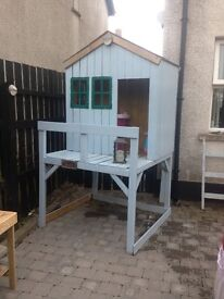 Wooden play house for sale