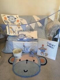 Nursery bedding, curtains & accessories