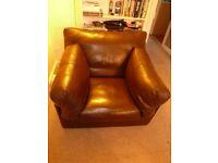 John Lewis Leather Armchair - Java RP £1390