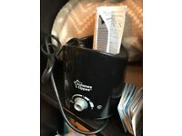 Brand new never used tommee tippee bottle warmer