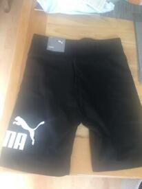 Puma size S (10) cycling shorts