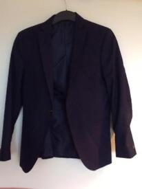 Men's Navy Blue Suit Jacket size XS