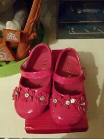 Baby girls brand new shoes