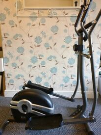 Body Sculpture BE6100 Elliptical Cross Trainer- Grey/Black/Silver