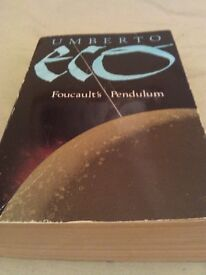 Foucault's Pendulum Paperback – by Umberto Eco