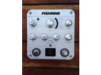 Fishman Aura Spectrum DI and Acoustic Guitar Preamp WILL DELIVER or POST