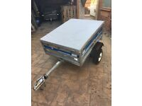 Trailer maypole 712 camping garden tip mobility scooter