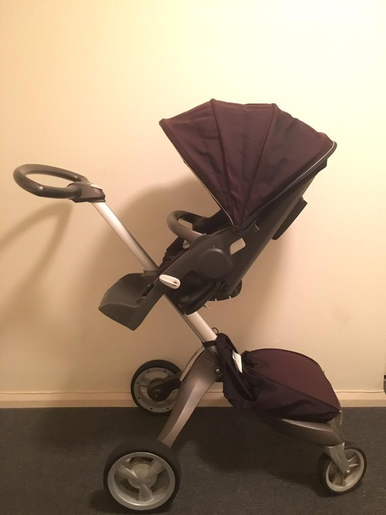 Stokke Xplory Pram with Carrycot and lots of extras
