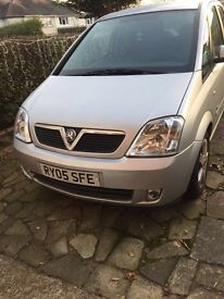 Vauxhall meriva 2005 81000 miles £1000ovno