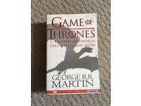 Game of Thrones: A Storm of Swords book