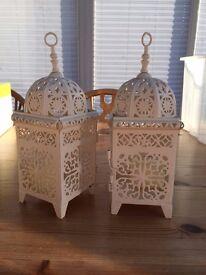 Assorted Cream Wedding Decorations - 33 pieces