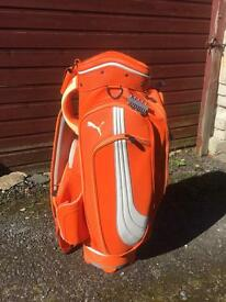 Puma golf tour bag
