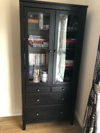 IKEA dark brown cabinet