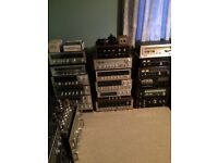 Vintage hifi sansui,pioneer,rotel,revox incl stereo receiver,tuners,cassette decks,reel to reel vgc
