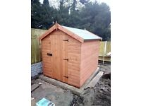 Factory New 8x6 Apex Shed