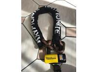 Motorcycle/ bike lock