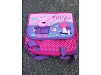 Mothercare Peppa Pig Satchel Backpack