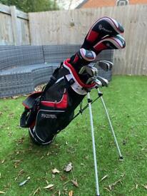 Golf Club Set + Bag + Balls + Shoes