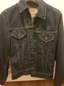 levis women's denim jacket Small