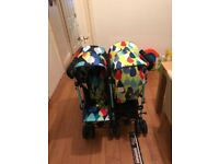 Cosatto Pitter Patter duo. Suitable from birth to 3 years