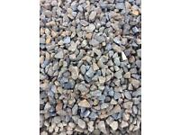 20mm grey stones/chips