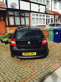 BMW 118i year 2006 FULL SERVICE HISTORY MOT & ROAD TAX PAID UNTIL SEPTEMBER 2017