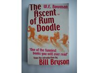 The Ascent of Rum Doodle, W.E. Bowman (Intro by Bill Bryson)