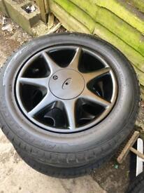 Ford 15 inch 7 spoke alloys ....4 x108