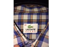 Lascoste shirt size 42 (large)