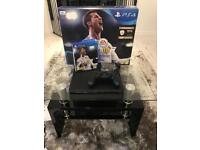 Sony PlayStation 4 slim with games
