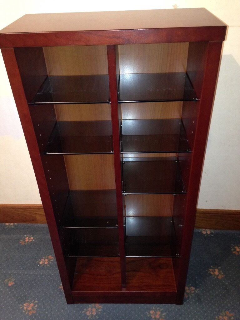 McDonagh bookcase and matching cd unit