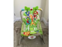Fisher Price Rainforest baby rocker