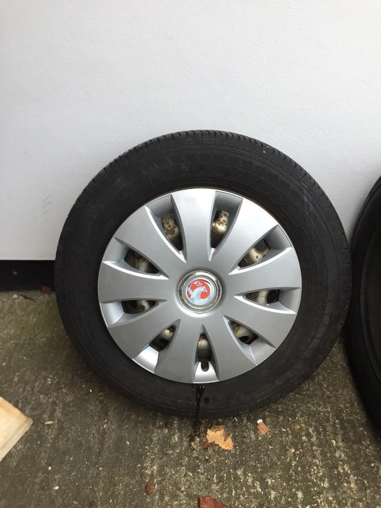 Vauxhall Vivaro Wheels Tyres And trims