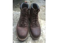Dr Martens boots UK 6 EU 39 brown leather hiking walking boots