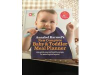 Baby meal planner