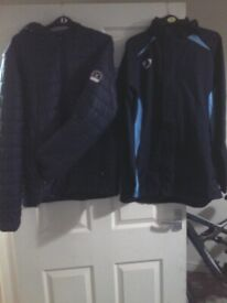 brand new nike coat and a brand new henleys coat