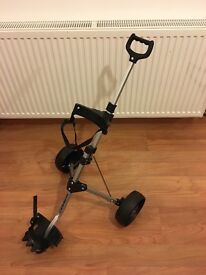 Kids Collapsible Golf Trolley - Young Gun brand