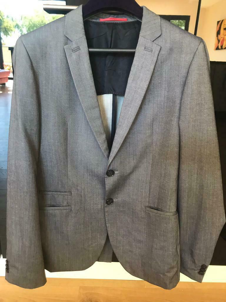 db9f0b754 HUGO BOSS MENS FORMAL TAILORED SUIT & 4 WORK SHIRTS (2 TOMMY HILFIGER&2  PAUL SMITH)