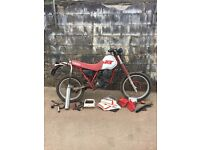 Yamaha xt350 restoration project
