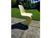 Verner Panton outdoor s dining chair by Vitra