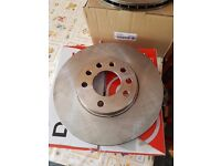 new vauxhall astra h front brake discs