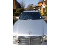 Mercedes-Benz C240 for sale or LHD of similar make and mileage: 4 door, petrol, automatic