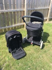 Mamas and Papas Zoom Pushchair with Carrycot